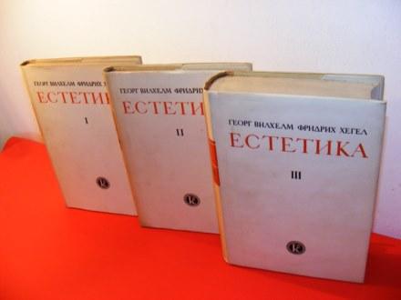Estetika 1-3 Georg Vilhelm Fridrih Hegel