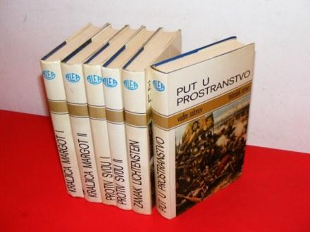 Historijski roman 6 knjiga