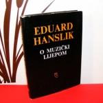 O MUZIČKI LIJEPOM Eduard Hanslik