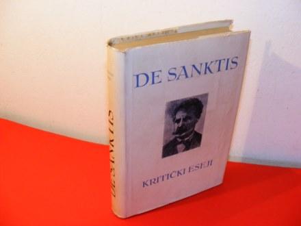 KRITIČKI ESEJI Frančesko De Sanktis