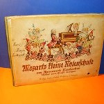 Mozarts Kleine Notenschule 1934 German Childrens Music