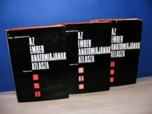 ANATOMSKI ATLAS 1-3 ATLAS ANATOMIAE CORPORIS HUMANI DR KISS FERENS DR SZENTAGOZHAI JANOS