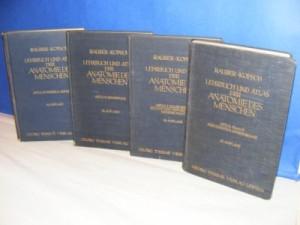 Lehrbuch und Atlas der Anatomie des Menschen 1-4