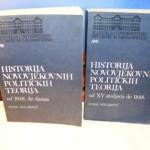 Historija novovjekovnih političkih teorija I-II