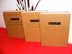 anatomski atlas 1-3 sinelnikov
