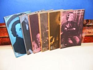 Rowohlts monographien 1-6 Chopin,Liszt,Schumann,Wagner