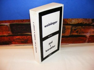 POL I KARAKTER Weininger