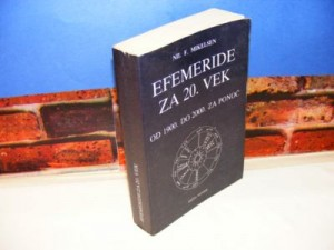 EFEMERIDE ZA 20. VEK Nil F. Mikelsen