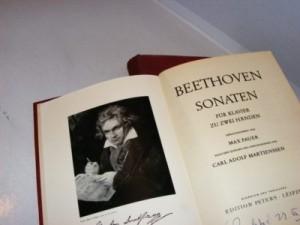 Beethoven Sonaten für Klavier zu zwei Händen 1-2