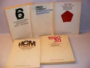Jugoslovenska umetnost XX veka 1-5