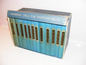 Dostojevski Odabrana dela komplet 1-12, kutija