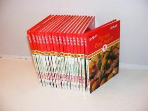 Bazarovi kuvari 17 knjiga, Grupa autora