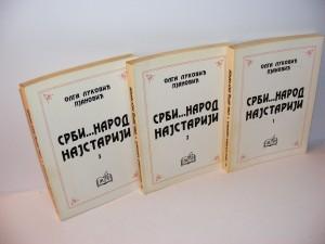 SRBI...NAROD NAJSTARIJI 1-3 Olga Luković Pjanović