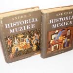 HISTORIJA MUZIKE Josip Andreis, 1-2